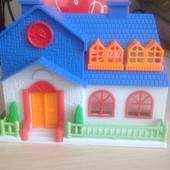 домик-школа для кукол