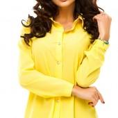 Размеры 42-48 Шикарная женская шифоновая блуза