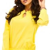 Размеры 42-48 Элегантная шифоновая женская рубашка
