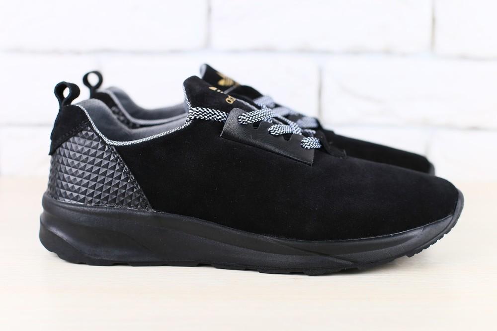 Кроссовки Adidas из натур. замши, р. 40.41.44.45, код nvk-2434 фото №1