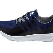 Кроссовки женские Adidas zk 48 синие