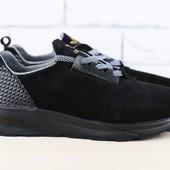 Кроссовки Adidas из натур. замши, р. 40-45, код nvk-2434