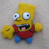 Барт Симпсон значок