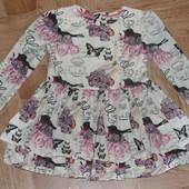Красивенное платье -туника Autograph 3-5л идеальное сост