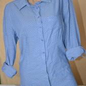 Удлиненная рубашка TU 14р в горошек