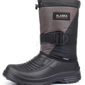 Сапоги-Термос мужские зимние водонепроницаемые Alaska хаки Украина