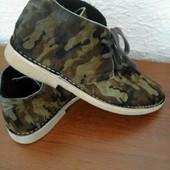 Стильные ботинки мех пони от bronx