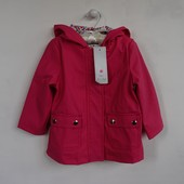 Куртка на ветренную и дождливую погоду на девочку рост 92см