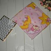 Белье постельное детское 3 предмета - простынь, наволочка, пододеяльник