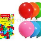 Надувные шарики 100 шт. Экстра, Большой!!