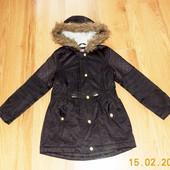 Демисезонная куртка F&F для девочки 7-8 лет, 122-128 см