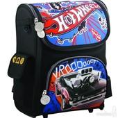 Школьный рюкзак трансформер Kite Hot Wheels 502 ортопедический каркасный 1-4 кл для мальчика