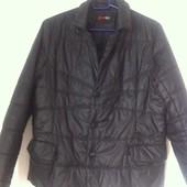 Демисезонная куртка черная  SharMan
