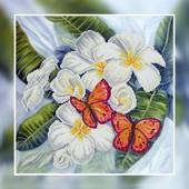 Набор для вышивки бисером Бабочки ВБ1041