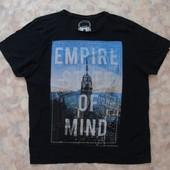 Черная футболочка на разм.48-50