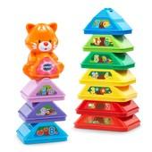 VTech Музыкальная развивающая игрушка Пирамидка, пасочки, кубики c котиком nest and build tree stack