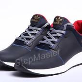 Кроссовки кожаные Adidas Trainers Blue