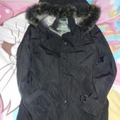 Куртка демисезонная удлиненная размер 38