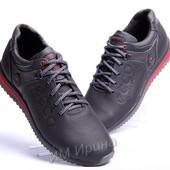 Кожаные кроссовки Ecco Motion Receptor черные