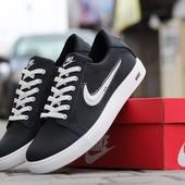 Кеди Nike   темно сині