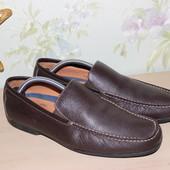 43 28см Marks&Spencer Кожаные мокасины туфли