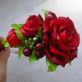 обруч ободок роза