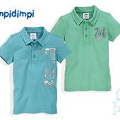Набор фирменных футболок поло для мальчиков  на рост 74/80
