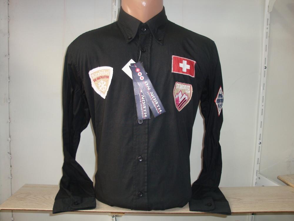 Распродажа Мужская рубашка с длинным рукавом Vancouver Ski. Разные цвета. фото №1