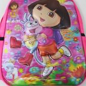 Детский плюшевый рюкзачок Даша и башмачок 6D