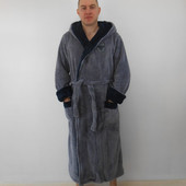 Мужской махровый халат 54-58