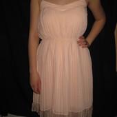 шифоновое нежное платье Mango сарафан
