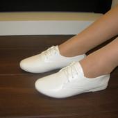 Туфли на шнурках Н7054