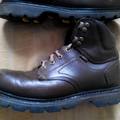 Кожаные ботинки Caterpillar оригинал р.41-26см.