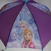 Фирменный зонт от  Disney с Анной и Эльзой