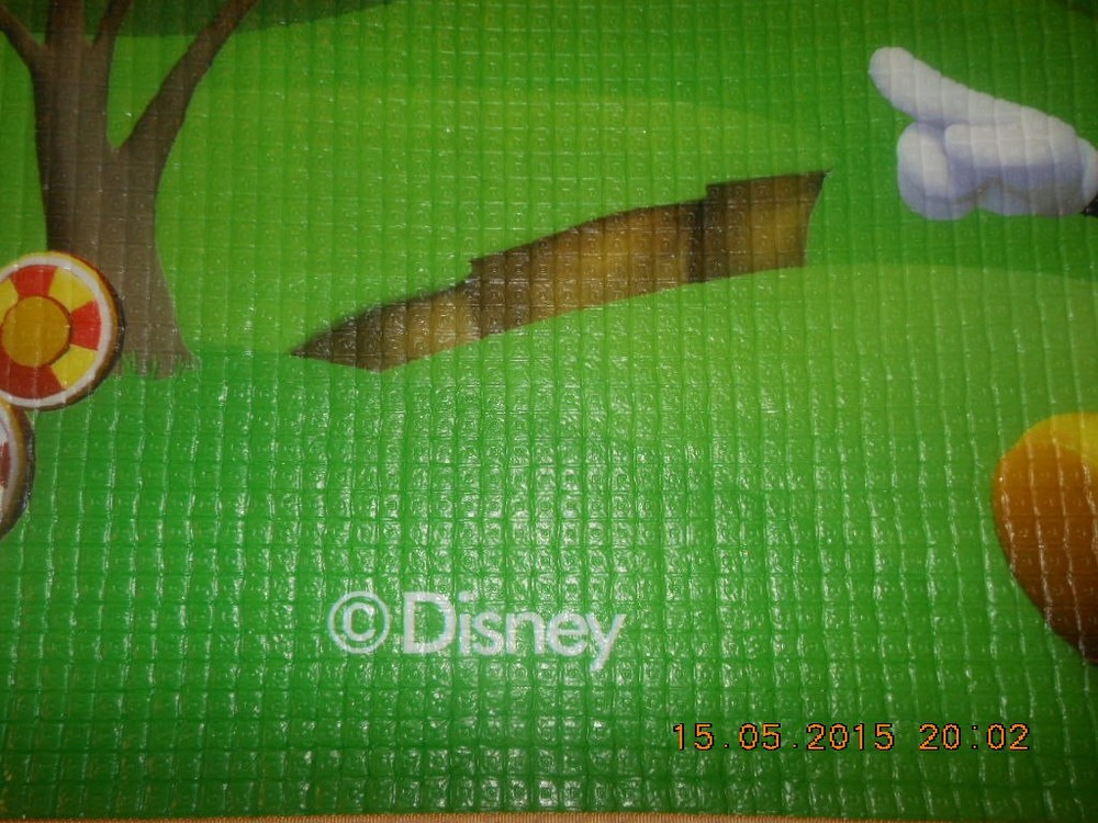 Коврик на пол игровой disney фото №5