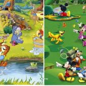 Коврик на пол игровой Disney