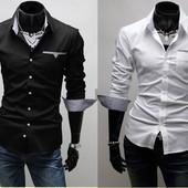 Рубашка мужская 2 цвета