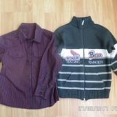 George сорочка 4-5 років 104-110см та светр