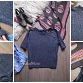 Блуза-меланж в стиле casual,р-р С-М