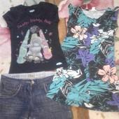 Пакет летних вещей для девочки 10 - 12 лет.