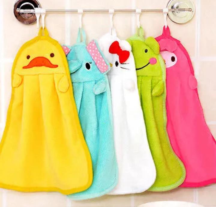 Детские веселые полотенца для ручек, новые фото №1