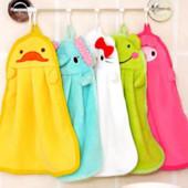 Детские веселые полотенца для ручек, новые