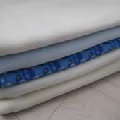 Пеленка-Плед флис, двойная пеленка флис трикотаж