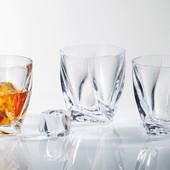 Набор стаканов Bohemia Quadro 340 мл, 6 шт