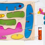 Деревянный 3D пазл, конструктор, Самолет, ил-2 кукурузник