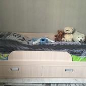 Кровать подростковая с ортопедическим матрасом 195/85 см