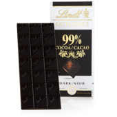 Lindt Excellence 99 Cacao. Франция 50g