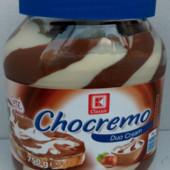 Шоколадная паста Chocremo Duo Cream 750g Германия