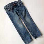 джинсы в горошек р.98
