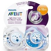 Philips Avent пустышка (6-18 м.) SCF176/22 ( авент)